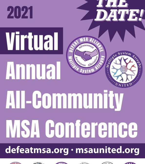 SAVE THE DATE – MSA ANNUAL VIRTUAL CONFERENCE, OCTOBER 1-3, 2021